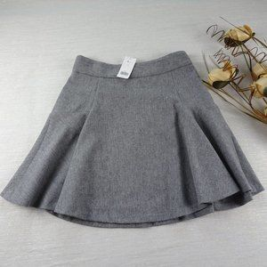 NWT Banana Republic Wool Blend Cute Skater Skirt 0